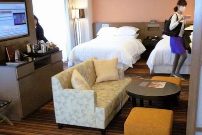 ホテルの中の旅館