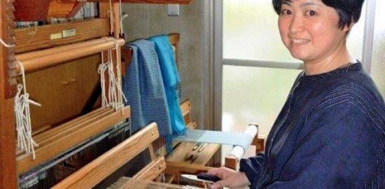 うらやすの人(27) うらたすみよ織工房代表 浦田純代さん