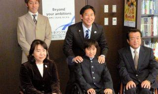 うらやすの人(33): 車いすテニス 日本ジュニア ランキング1位 坂口竜太郎選手(13)