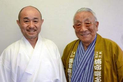 杉山徳生会長・吉野忍 さん