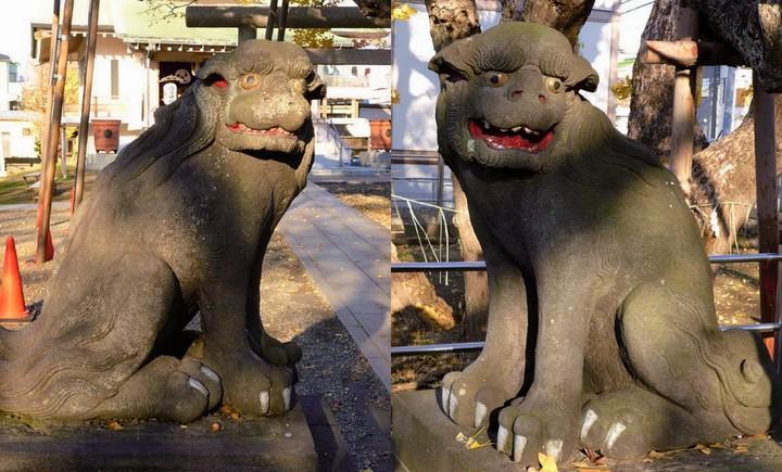豊受神社の狛犬