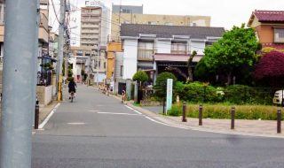猫実A地区も都市計画告示 自転車通行帯で車と分離