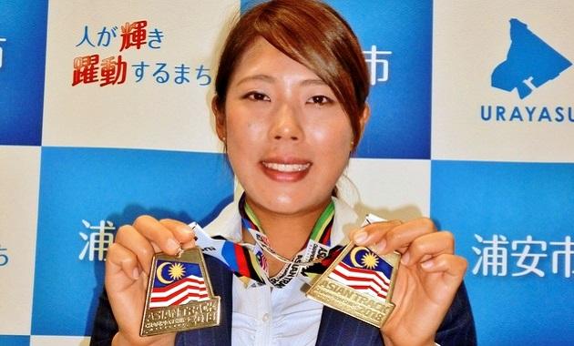うらやすの人(42) 自転車トラック競技日本代表 中村妃智(きさと)さん(25)
