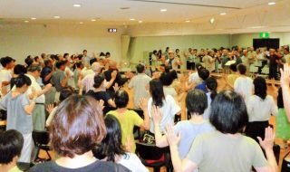 """師走に向け「第九」練習始まる 12・9 老若男女が""""歓喜""""歌う"""