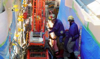 東野3丁目液状化対策工事を公開