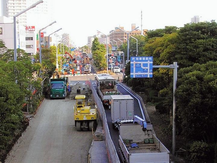 幹線道路の復旧、最優先