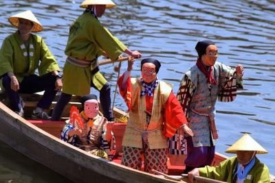 豊漁祈願の水神祭復活