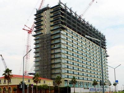 ホテルの建設ラッシュ続く