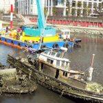 沈没船撤去で景観回復 ~「うらやす情報」の軌跡