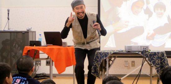 戦場カメラマン 渡部陽一さん トークショー
