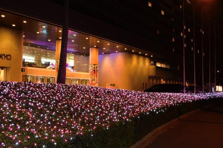 サンルートプラザ東京のイルミネーション