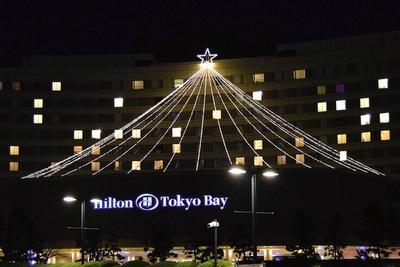 ヒルトン東京ベイのイルミネーション