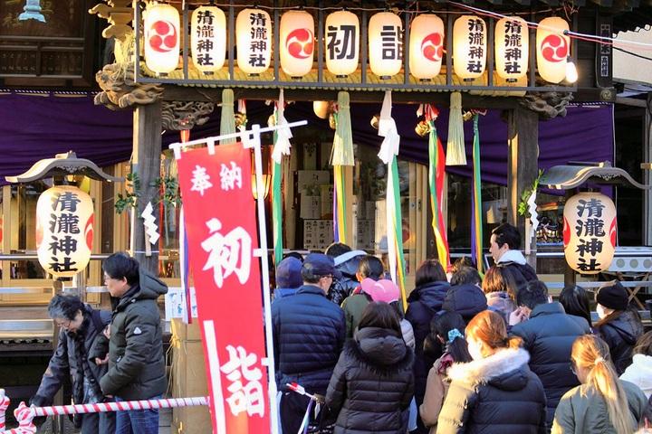 堀江の清瀧神社