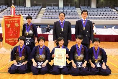 東京学館浦安・女子が初優勝