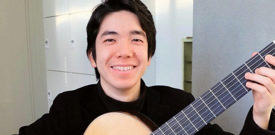 ウィーン留学から帰国した 浦安市出身のギタリスト 岡本拓也さん(26) リサイタル