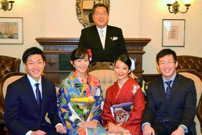 内田市長は笑顔