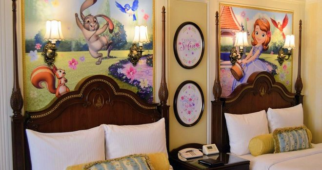東京ディズニーランドホテル 「ちいさなプリンセス ソフィア」 スペシャルルームが、期間限定登場