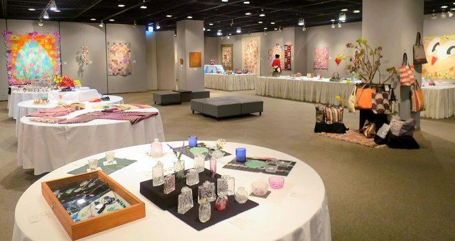 第21回市民手工芸作品展を 浦安市民プラザWave101で開催