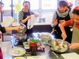 浦安市国際交流協会 和食体験で文化交流