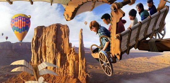 4つのディズニーホテルで体験キャンペーン 「ソアリン:ファンタスティック・フライト」