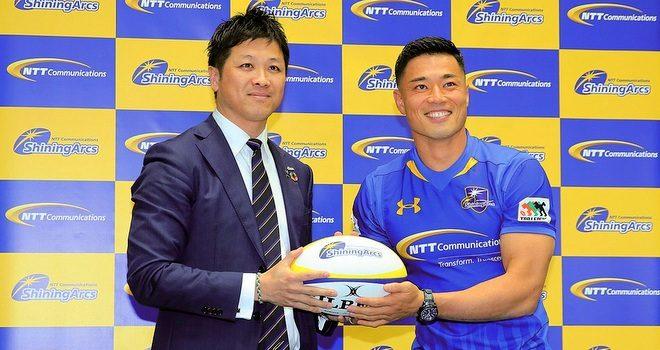 ラグビーU19・U23の日本代表 山田章仁選手 浦安NTTへ移籍・入団