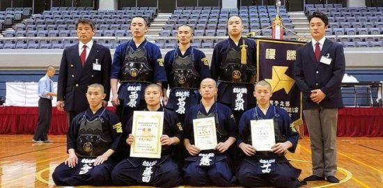 東海大浦安高剣道部(男子) 県予選会2年ぶり7回目の優勝