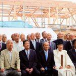 稲荷神社 社務所と御輿庫を建て替え