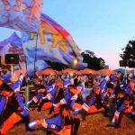 「明海の丘夏まつり」を開催 多くの市民でにぎわう