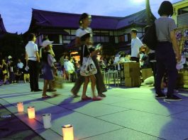 堀江の正福寺で 「盆はお寺で過ごさナイト」を開催