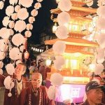 正福寺でお会式 災害復興物販やライブを開く