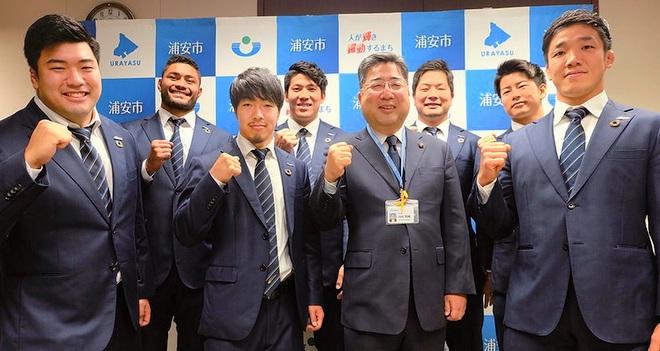 浦安市が拠点のラグビーチーム 「NTTコミュニケーション シャイニングアークス」