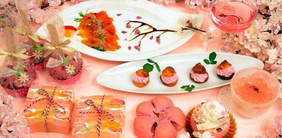 カラー&テイストで楽しむ春!「サクラクルール(桜色)」開催中 ホテルオークラ 東京ベイ