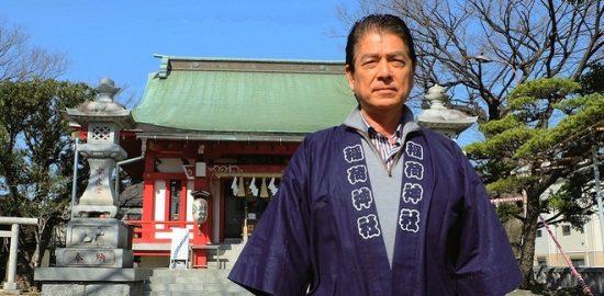「三社祭」に向けて意気込み語る 稲荷神社・総代長