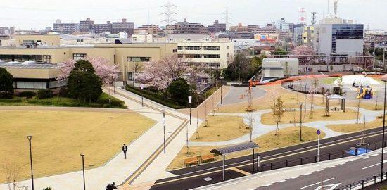 浦安公園が4月7日に全面オープン 防災機能を整備