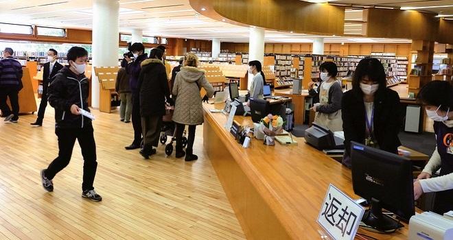 浦安市立中央図書館が リニューアルオープン