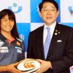 うらやすの人(28): リオ五輪7人制女子ラグビー代表 冨田真紀子さん