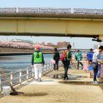 初の境川クリーンアップ 15団体が協力 境川であそぼう実行委員会