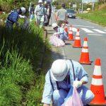 日本の玄関口・浦安IC 建設業協力会が一斉清掃