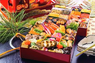 日本料理「行庵」特製おせち料理