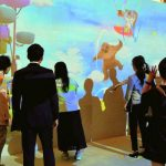 オリエンタルホテル東京ベイ 人気のプロジエクションマッピング 10月3日から「大空」のシーン加わる