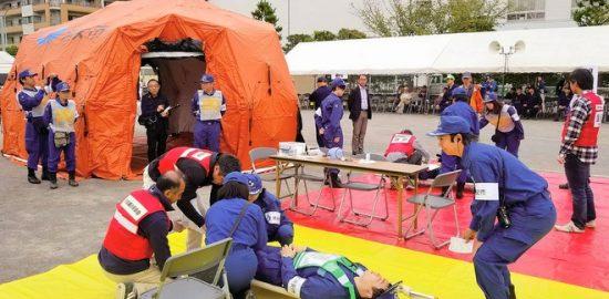 総合防災訓練開催 状況に応じた防災を学ぶ