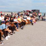 海辺のカフェを総合公園で開催浦安を大好きな市民グループ「NEXT30」が主催