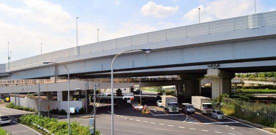 国道357号(東京湾岸道路) 舞浜立体が開通