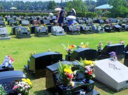 多くの市民が先祖を供養 浦安市墓地公園