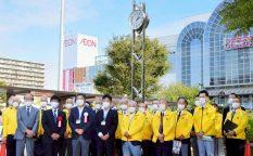 浦安ロータリークラブが創立40周年を記念して「時計塔」を市に寄贈