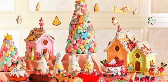 パステルカラーで彩る『クリスマススイーツブッフェ』グランドニッコー東京ベイ舞浜