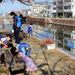 オール市民で母なる川を守る 境川クリーンアップを開催