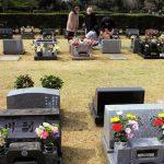 春分の日〜市墓地公園でお墓参り〜