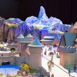 ディズニーシーの8番目のテーマポート 「ファンタジースプリングス」動画の中で再現