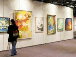 格調高い芸術作品を鑑賞 第30回市美術協会展
